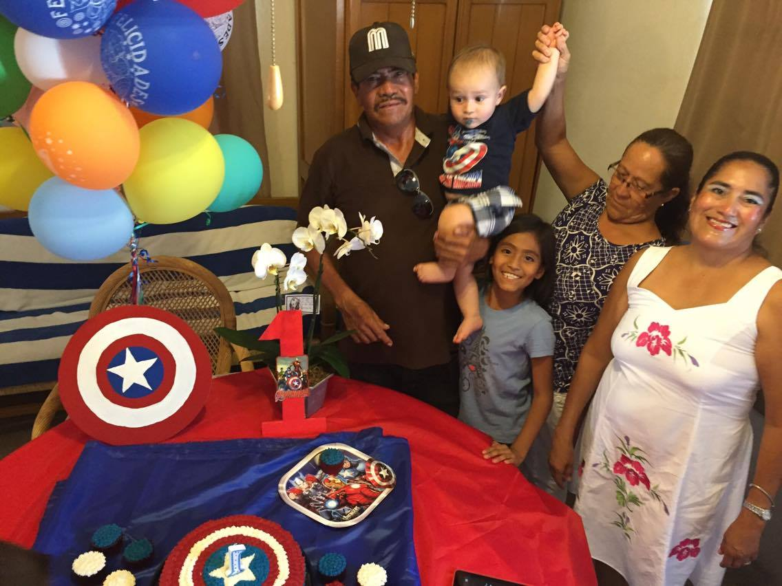 First birthday party for Bernard Alexander on August 5, 2016.