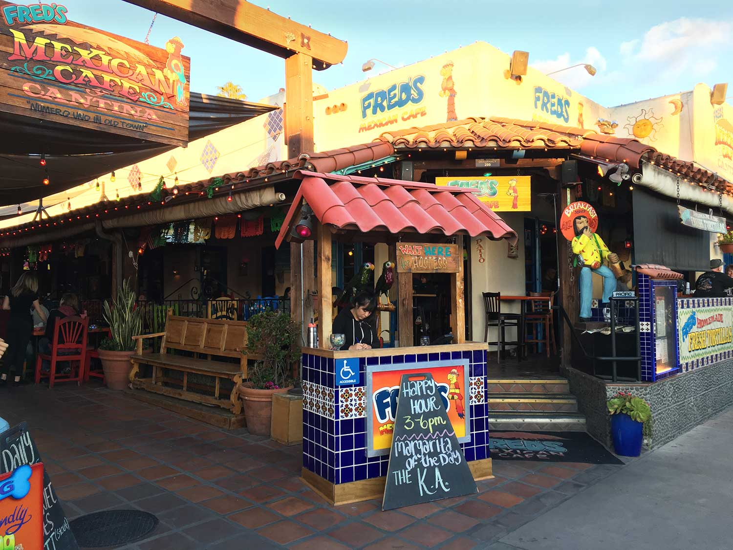 Fred's Mexican Cafe in Old Town, San Diego, CA, March 2018 - 5243